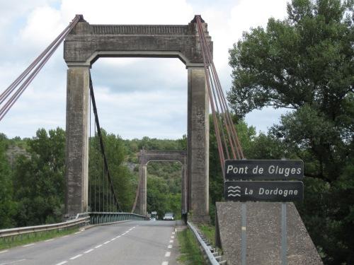 Bridge over the Dordogne River