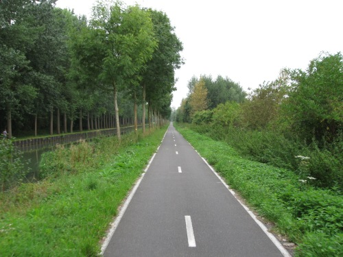 Nice Bike Path to Paris