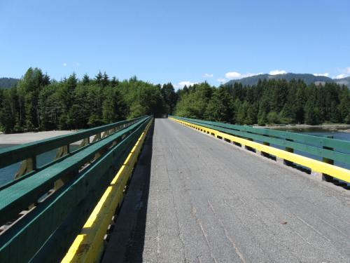 Long Bridge riding North from Port Renfrew