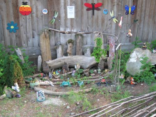 """Enchanted Garden"" at Sooke River Campground"
