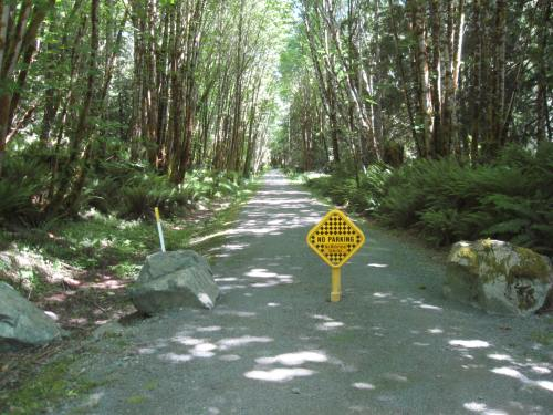 Cowichan Valley Trail (abandoned E&N Rail) to Duncan