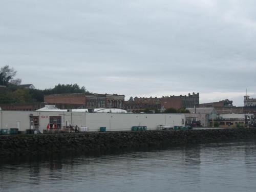 Entering Port Townsend