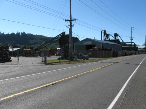 Sawmill just south of Montesano