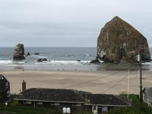 Haystack Rock South of Cannon Beach