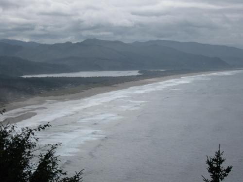 Manzanita Beach from Neahkahnie Mountain