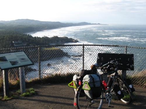 The view from Cape Foulweather