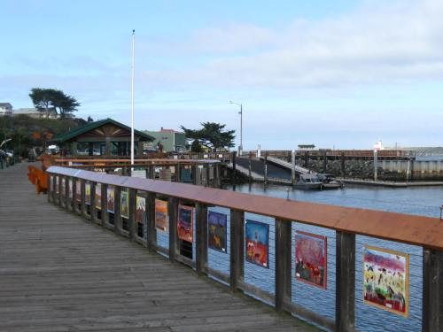 Lovely Pier and Walkway at Bandon