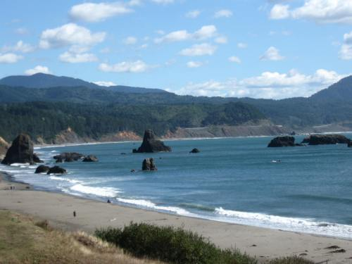 Arriving in Port Orford
