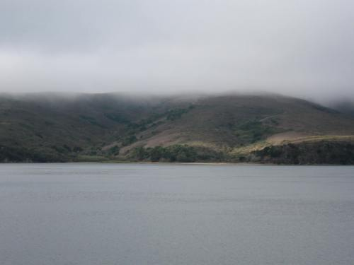 Looking West across Tomales Bay
