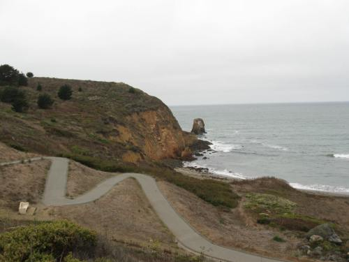 Leaving Pacifica - Just a running path next to my climb