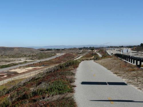Beautiful Bike Path into Monterey