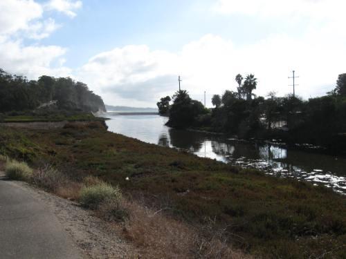 Bike Path Crossing at Goleta Slough
