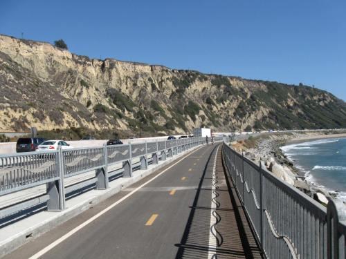 Bike Path Alternative to Freeway Riding