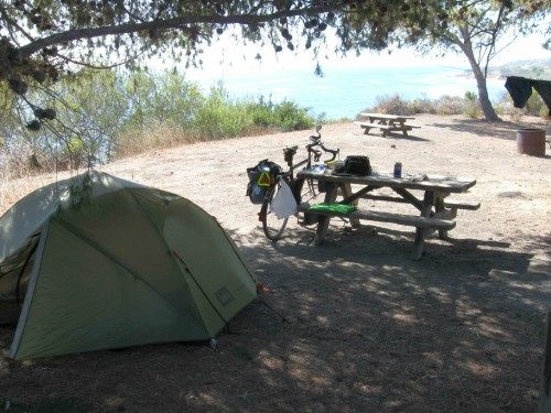 My Campsite at El Capitan SP