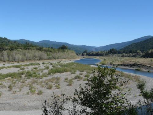 Eel River - Bed!