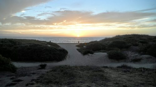 Sunset at Half Moon Bay