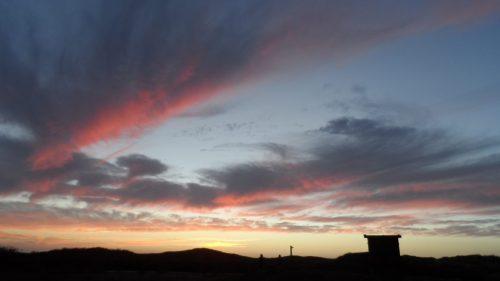 Evening Sky at Half Moon Bay