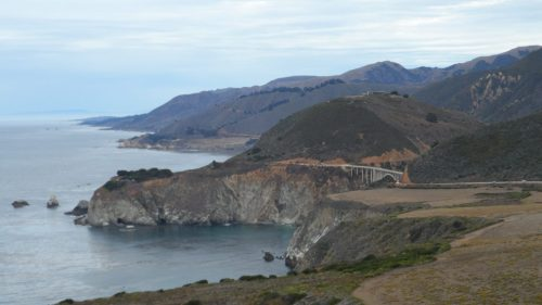 Looking back to the Bixby Bridge