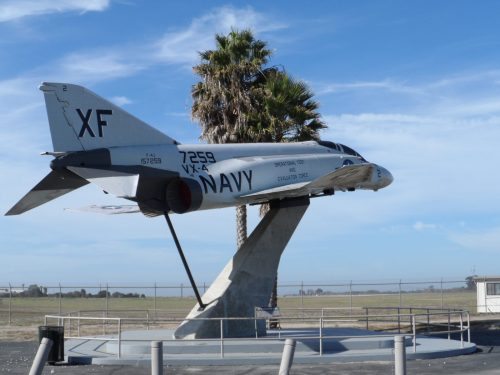 F-4 Fighter Jet at Missile Park