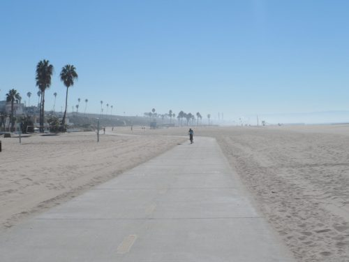Quiet Bike Paths on the Beach