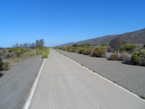 Desolate Bike Path