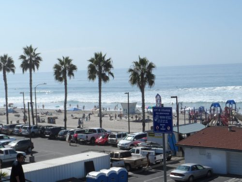 The Beach at Oceanside