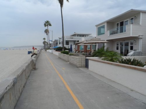 A Quiet Stretch of Mission Beach