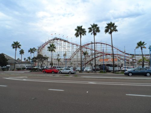 Roller Coaster at Mission Beach
