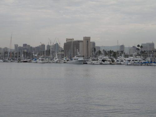 Entering Downtown San Diego