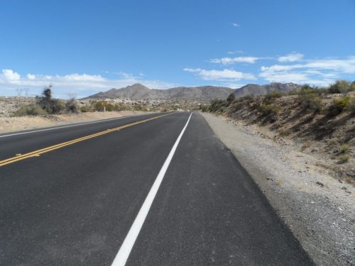 Repaved Section of 80 out of Jacumba