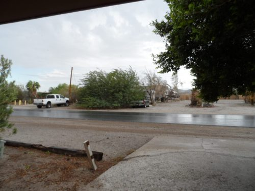 Stormy Weather in Ocotillo