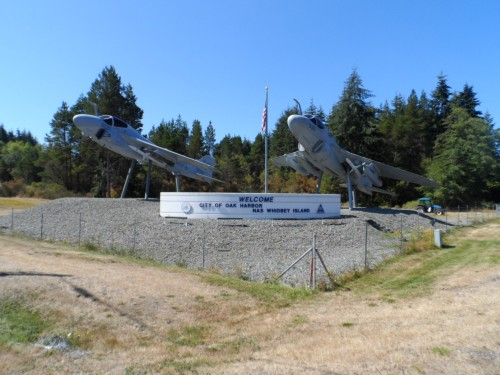 Naval Air Station Located at Oak Harbor, Whidbey Island