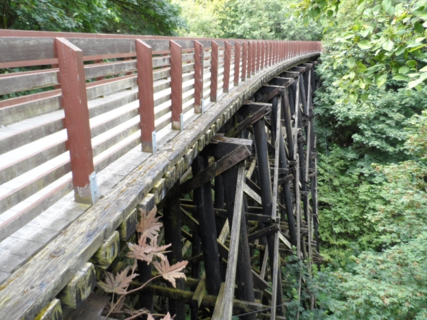 Rail Trestle on the ODT