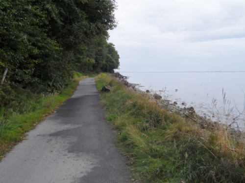 Trail just east of Port Angeles