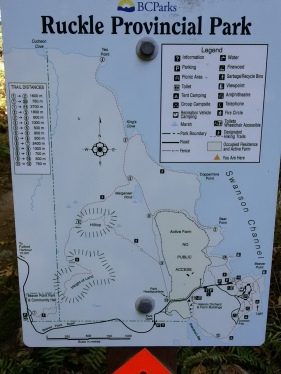 Ruckle Park Trail Map