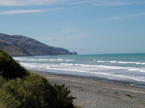 Beach at Gore Bay