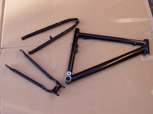 Frame Stripped and Powder Coated