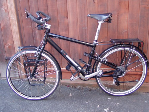 The completed bike in 2005