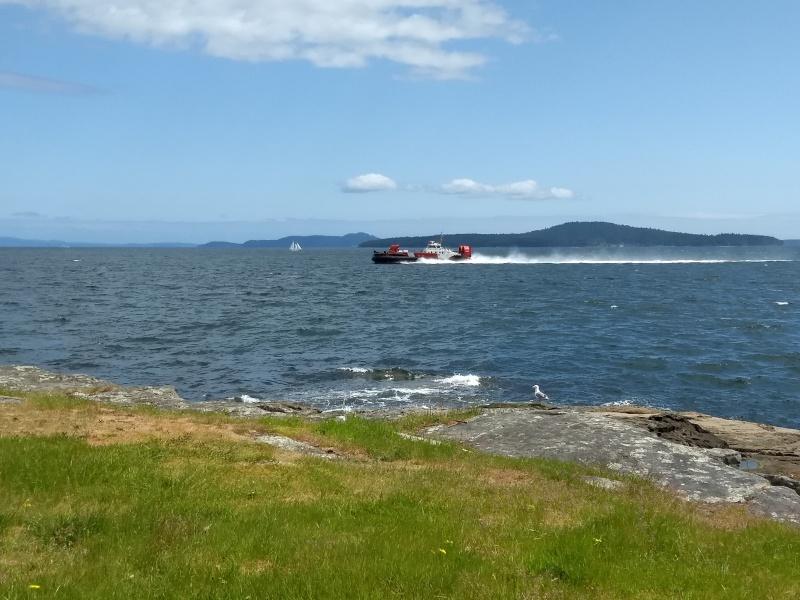 Coast Guard Hovercraft