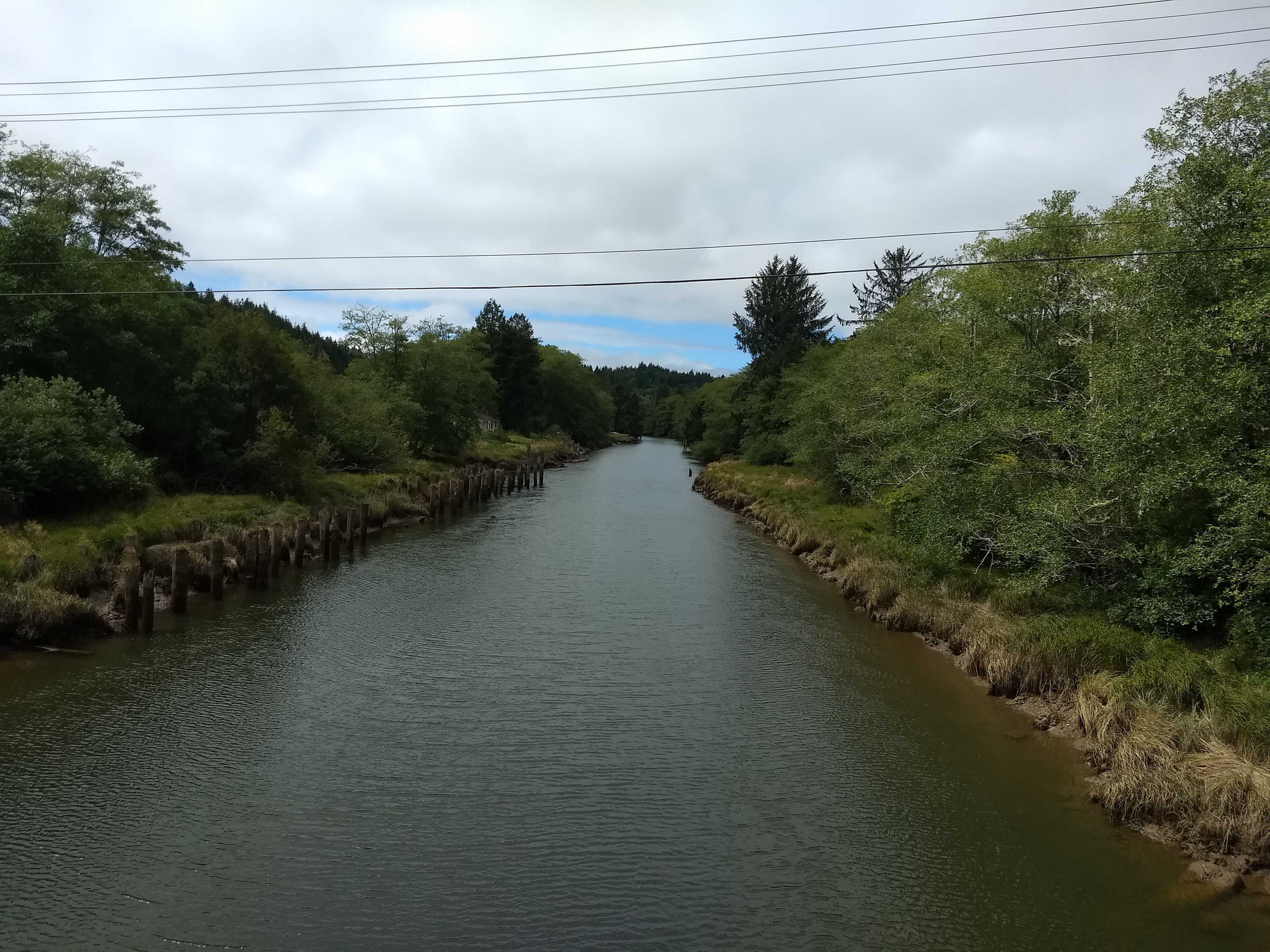First Crossing of the Hoquiam River