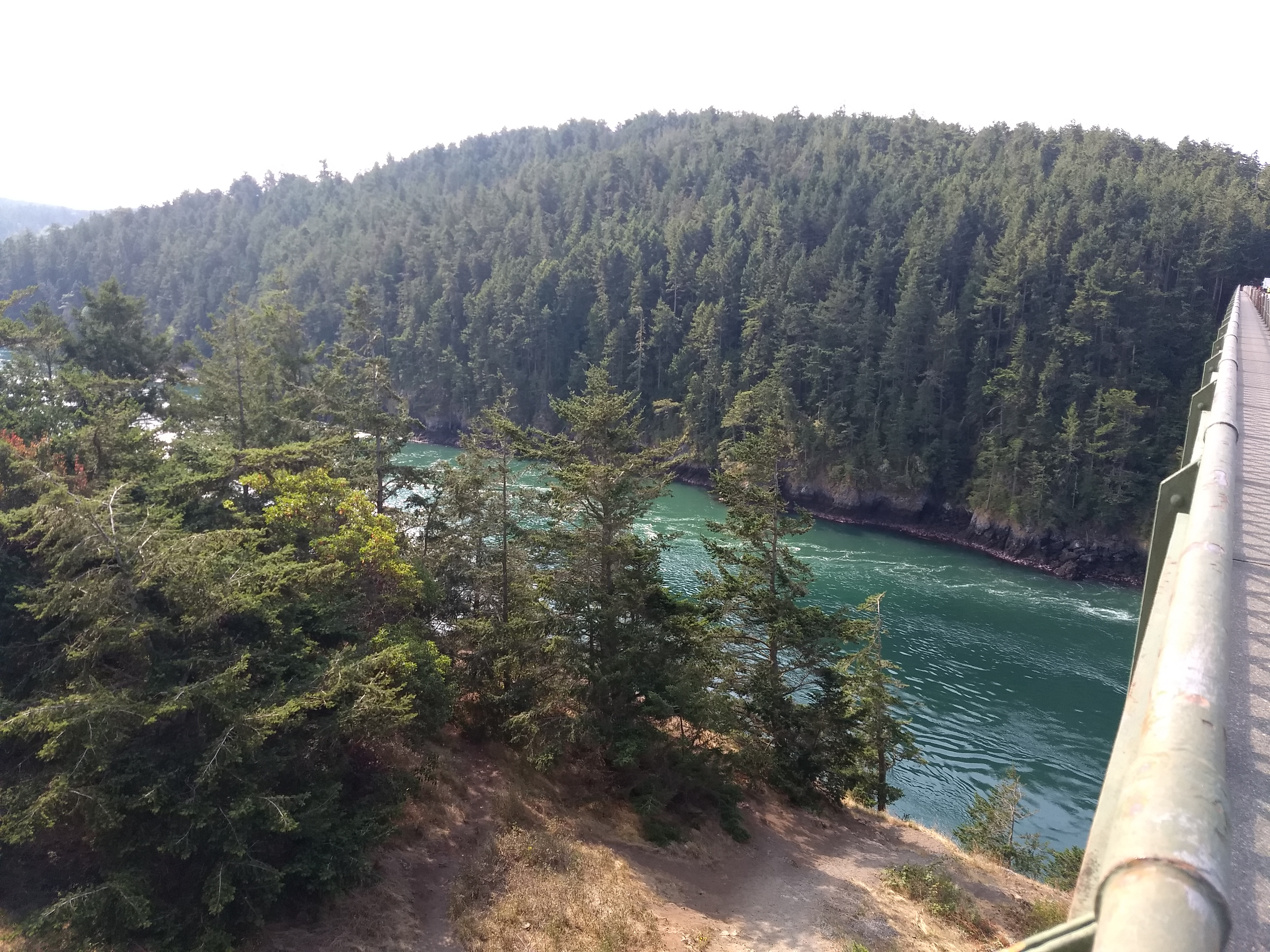View East from Deception Pass Bridge
