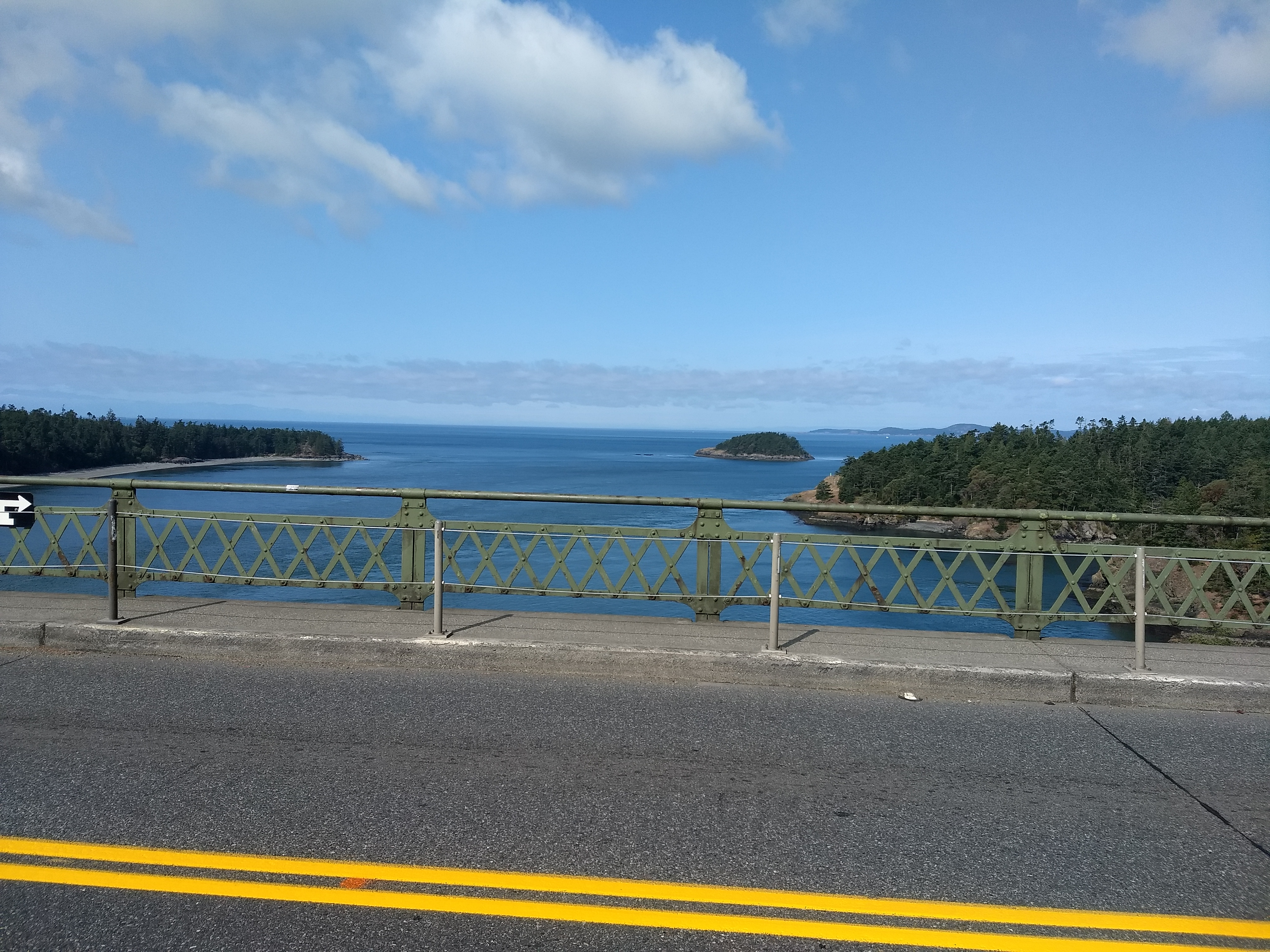 View West from Deception Pass Bridge