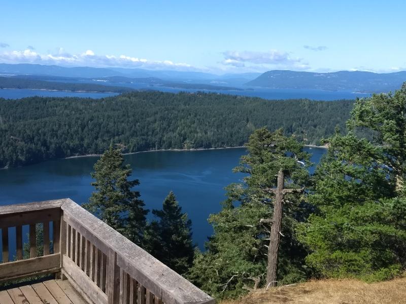 Views Westward towards Vancouver Island