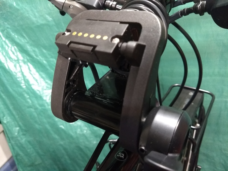 VLCD5 Mount & Throttle